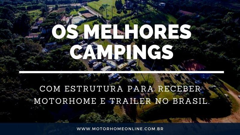 Os melhores campings do Brasil para Motorhome