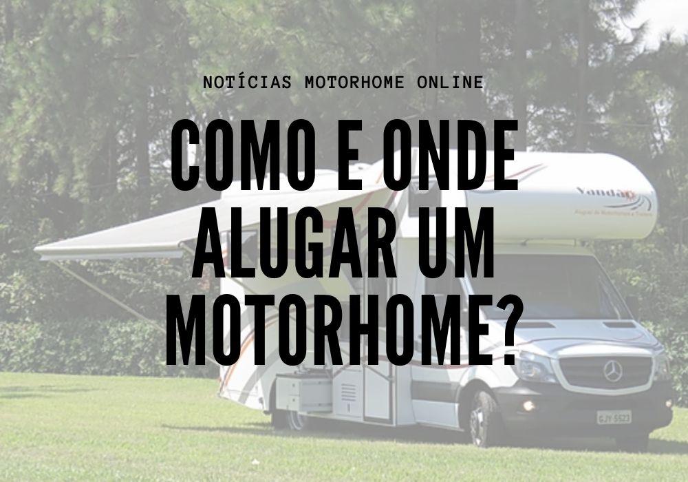 Como alugar um trailer ou motorhomeA
