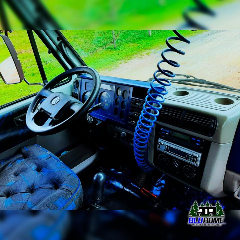 Caminhão 8.150 ano 2003, trucado com cavaleira.